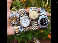 Wanted Rolex Breitling Omega Zenith watches