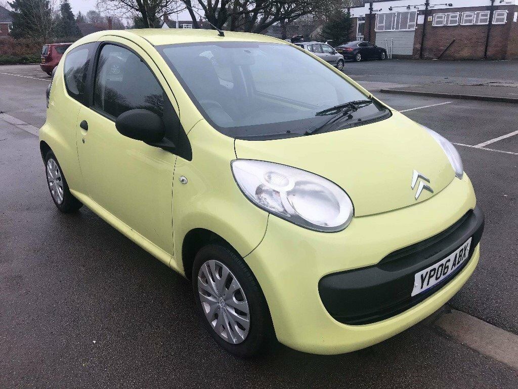 Well Cared For 2006 Citroen C1 Vibe In Striking Yellow