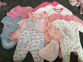 Baby Girls Clothes - First Size - Bundle 2