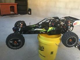 1/5 scale petrol powered rc buggy