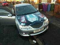 Swap Mazda 6 sports. very good condition, full service 18 INCH ALLOYS Swap for diesel