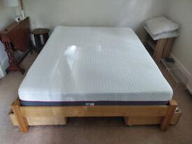 Mattress and Pillows - 8 months used - Hyde & Sleep