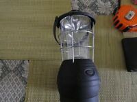 Dynamo wind up camping light