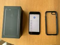 IPhone 7 128gb in black in full working order
