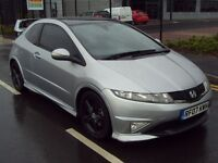 Honda Civic 1.8 i VTEC Type S GT GT i-Shift 3dr -AUTO - TOP SPEC - MUGEN - PAN ROOF *TYPR R* PX