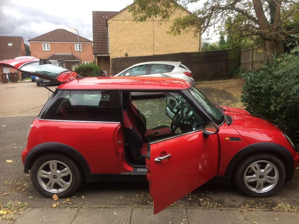 RED MINI HATCH 1.6 COOPER 3DR PETROL 2006 MANUAL 59800 MILES