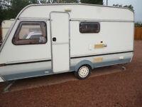 lovelly Abi Monza 450s 4 berth caravan in great condition