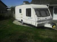 Bailey Ranger 2 berth caravan