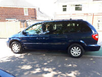 ** 7 SEATS ** AUTO ** T/DIESEL** 55 REG CHRYSLER GRAND VOYAGER 2.8CRD XS LIMITED