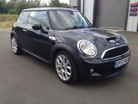 Mini Cooper S Black Leather & NAV. Full Mini SH