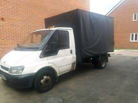 Ford Transit 90 T350 MWB, 3.5 t, single cab, double axle rigid body, low mileage