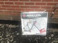 Minors indoor bicycle trainer