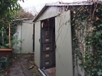 TWO (or one!) FREE METAL GARDEN SHEDS!