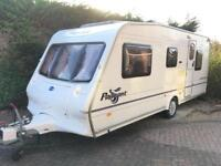 Bailey Auvergne 5 berth caravan