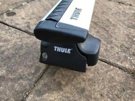 Car roof rack - Thule wing bar 969, rapid system 754 and kit 1493