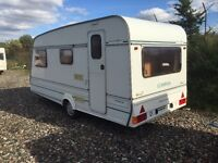 Compass reflection 1996 /4berth shower cassette toilet cooker 3 way fridge 12/240v hot and cold
