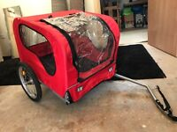 Dog Trailer Cost £95 new, used once, our Lab is too poorly to use