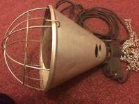 Infra red heat/radiator/incubator lamp for animals. New. Unused. Safety chain. £20