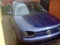 VOLKSWAGEN GOLF Mk4 97-03 BREAKING JOB LOT OF SPARES FREE LOCAL DELIVERY