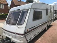 4 berth swift challenger 1996. With extras. Ready to go. I can deliver. Cheap