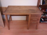 Vintage Solid Wood writer/writing desk/table