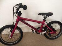 Islabike cnoc14 pink kids bike 2-5