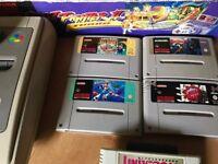 Original SUPER NINTENDO SNES - Boxed with Rare Games and More!