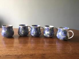 Ben Thomas porcelain mugs (5)