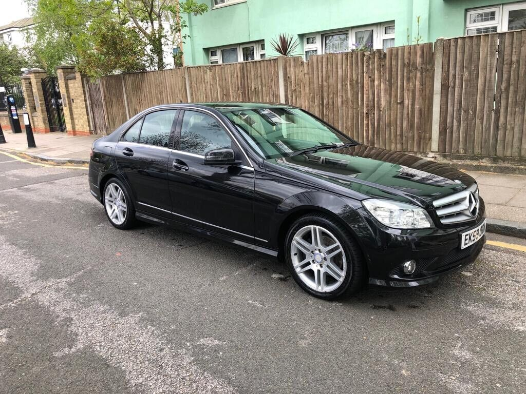 2009 MERCEDES C CLASS C200 CDI Sport AMG SPEC Black Automatic Genuine  Mileage Full Service History | in Bethnal Green, London | Gumtree