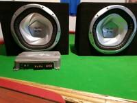 Sony Xplod subs and amps
