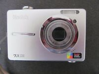 Kodak EasyShare C763 7.1 Megapixel Digital Camera with Charger & Case.