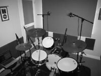 ONLINE DRUM RECORDINGS AVAILABLE