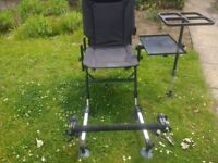 Deluxe fishing chair