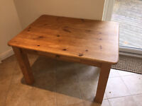 Solid Pine Kitchen style Table