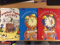 3 Piano Books