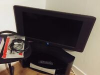 """Digihome 32"""" LCD 32723HD Ready TV with Corner Stand and Accessories"""