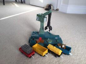 Cranky crane