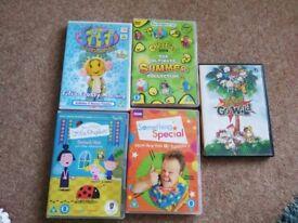 Pre school children's DVDs