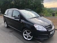 2010 60 Vauxhall zafira sri Xp 1.9 cdti 6 speed # 7 Seat mpv# low mileage ( 51 k ) s/h # cheap ins