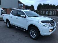 MITSUBISHI L200 TITAN NEW SHAPE DOUBLE CAB PICK-UP, 2016/16 PLATE WITH HIGH SPEC AND LOW MILES.