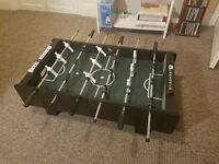 table football, hardly used, sturdy