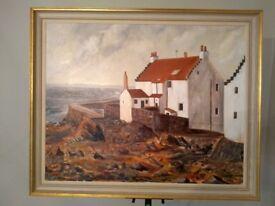 """Pittenweem Art """"The Gyles"""" by Derek Thirkell"""