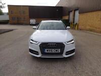 Audi A6 Avant TDi Quattro S Line (white) 2016