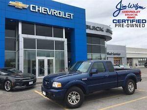 2010 Ford Ranger Sport V6 4X4 AIR LOW KMS!!!