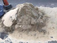 FREE - 1 tonne of marine grit. Used for block paving.