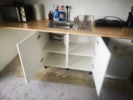 Kitchen Unit and Sink