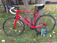 Specialized Allez Road Bike 58cm Xl Stunning Red Imaaculate Condition