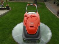 FLYMO 'VISION COMPACT 380' 1700watt ELECTRIC HOVER LAWNMOWER