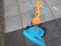 Unisex kids smart trike