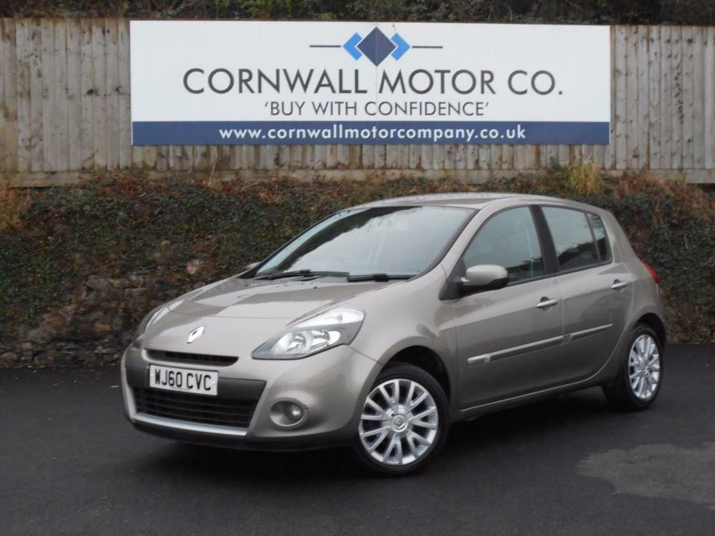 renault clio 1 5 dynamique tomtom dci 5d 86 bhp 1 owner from ne beige 2010 in gunnislake. Black Bedroom Furniture Sets. Home Design Ideas